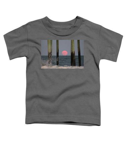Pink Moon Rising Toddler T-Shirt