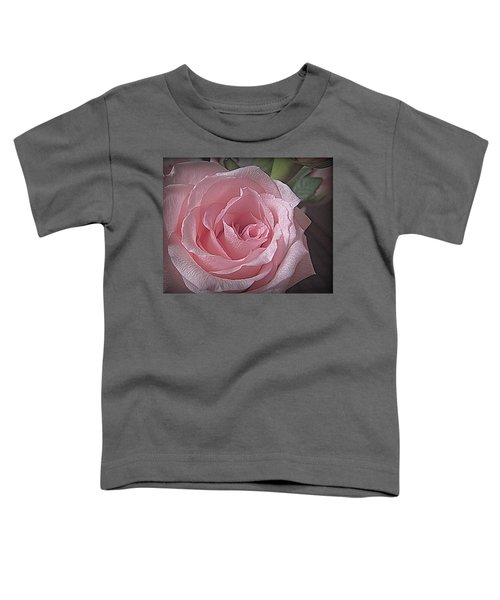 Pink Rose Bliss Toddler T-Shirt