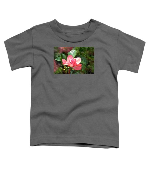 Pink Roses In The Rain 2 Toddler T-Shirt