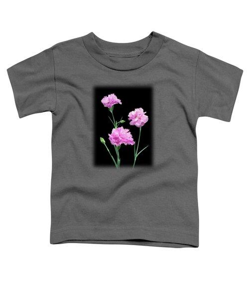 Pinks On Black Toddler T-Shirt
