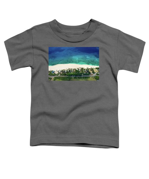 Pipeline Reef Overview Toddler T-Shirt