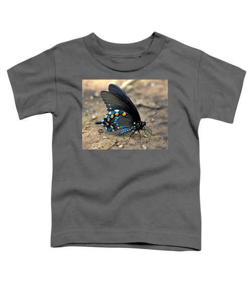 Pipevine Swallowtail Close-up Toddler T-Shirt