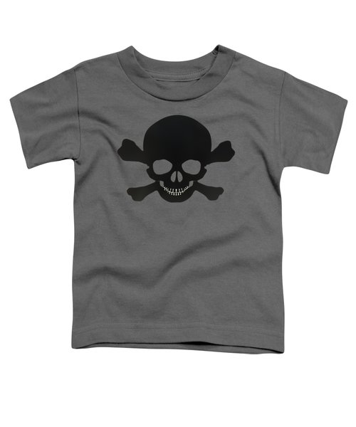 Pirate Skull And Crossbones Toddler T-Shirt