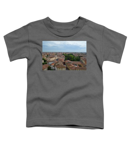 Pisa From Above Toddler T-Shirt