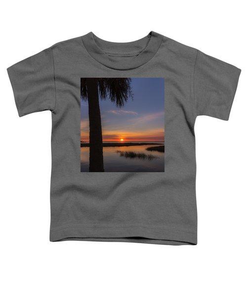Pitt Street Bridge Palmetto Sunset Toddler T-Shirt