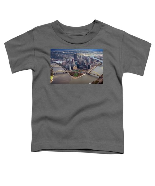 Pittsburgh 8 In Color  Toddler T-Shirt