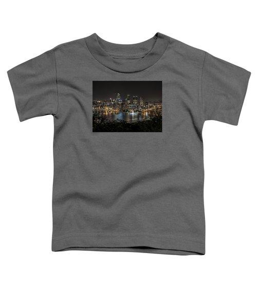 Pittsburgh Skyline Toddler T-Shirt