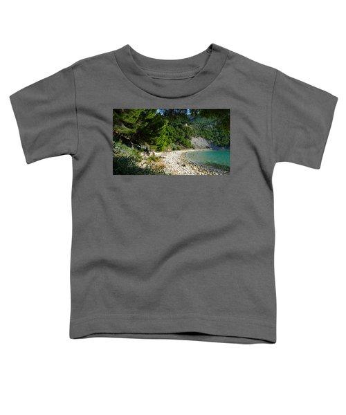 Arene Beach Of Cassis Toddler T-Shirt