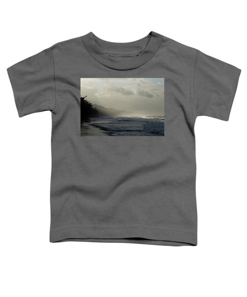 Playa Negra Beach At Sunset In Costa Rica Toddler T-Shirt