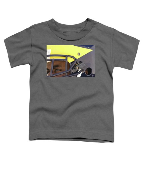 Player In Winged Helmet Toddler T-Shirt