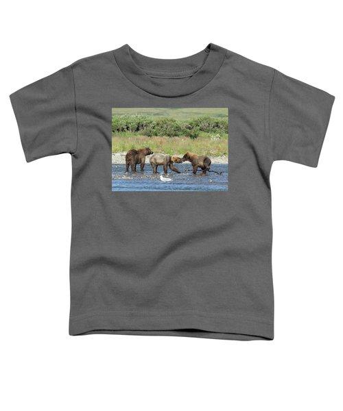 Playful Cubs Toddler T-Shirt