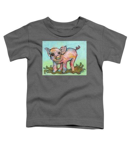 Playful Piglet Toddler T-Shirt