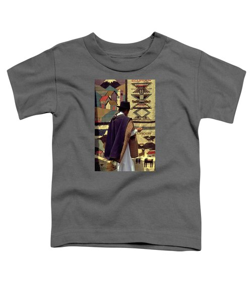 Toddler T-Shirt featuring the photograph Plaza De Ponchos by Travel Pics