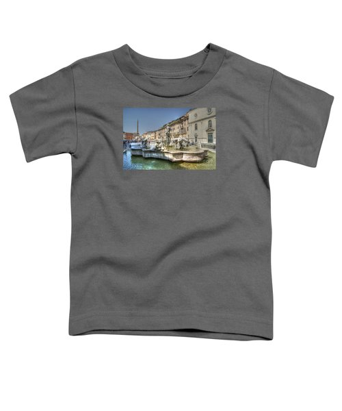 Plaza Navona Rome Toddler T-Shirt