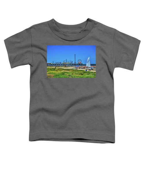 Pleasure Pier Sunny Day Toddler T-Shirt
