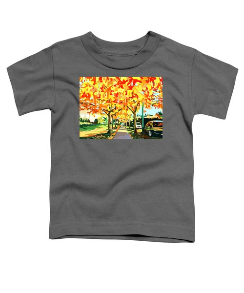 Plumes Of Leaves Toddler T-Shirt