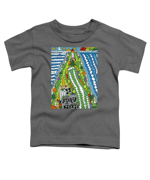 Point Arena Lighthouse Toddler T-Shirt