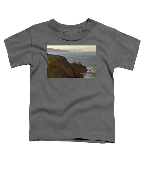 Point Bonita Lighthouse In San Francisco Toddler T-Shirt