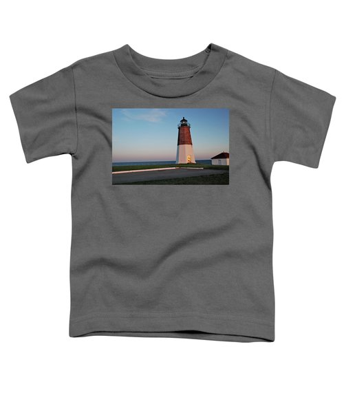 Point Judith Lighthouse Rhode Island Toddler T-Shirt