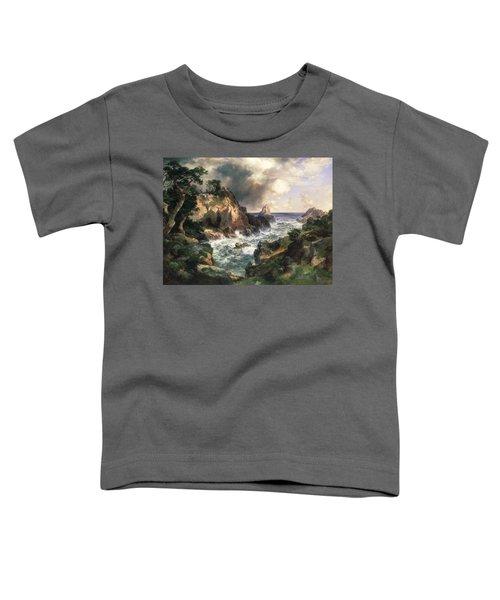 Point Lobos Monterey California Toddler T-Shirt