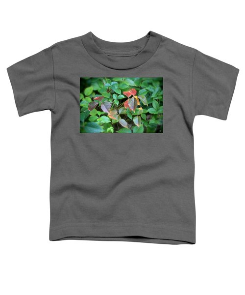 Poison Ivy In August Toddler T-Shirt