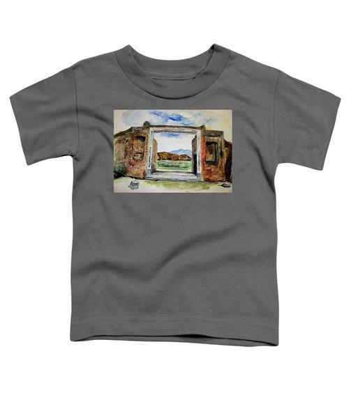 Pompeii Doorway Toddler T-Shirt