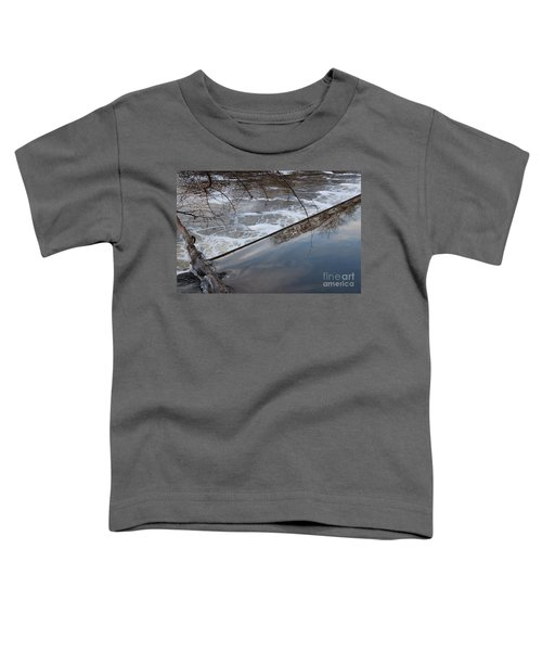 Pompton Spillway From Above Toddler T-Shirt