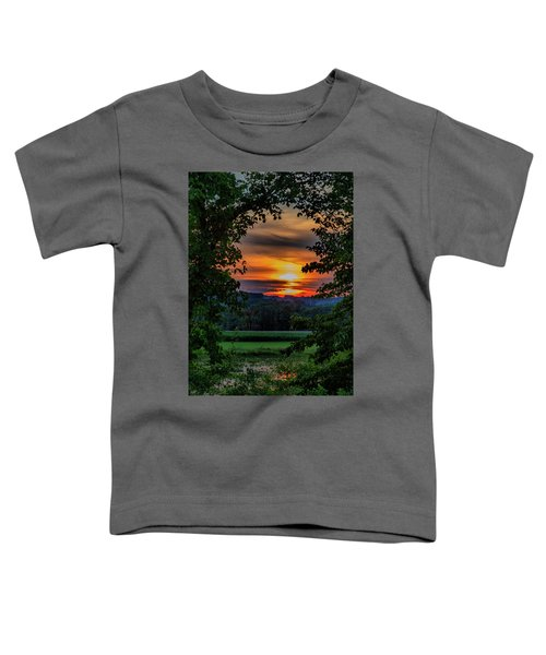 Pond Sunset  Toddler T-Shirt