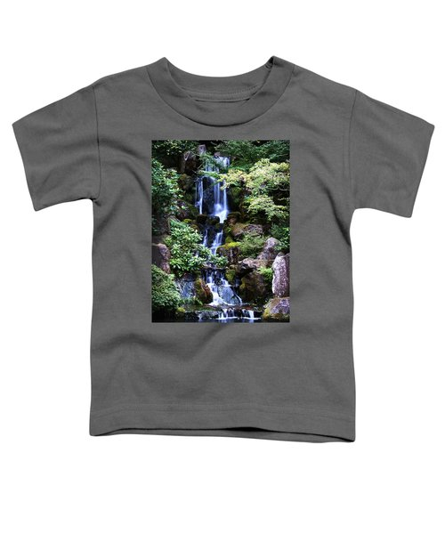 Pond Waterfall Toddler T-Shirt