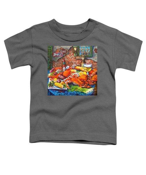 Pontchartrain Crabs Toddler T-Shirt