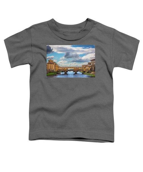 Ponte Vecchio Clouds Toddler T-Shirt