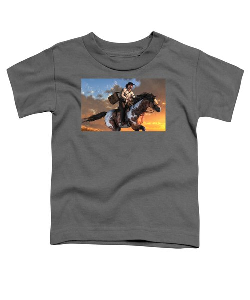 Pony Express Toddler T-Shirt