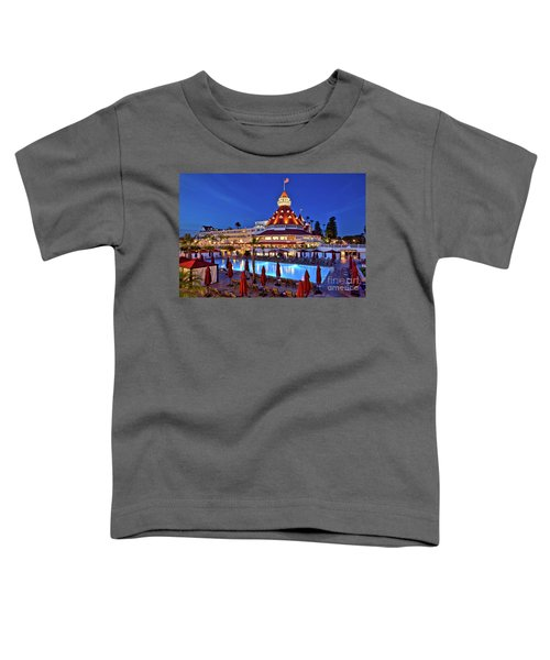 Poolside At The Hotel Del Coronado  Toddler T-Shirt