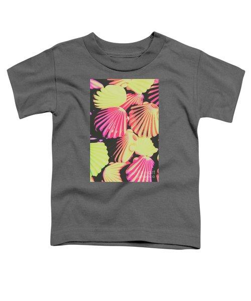 Pop Art From Fluorescent Beach Toddler T-Shirt