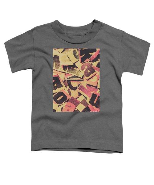 Pop Art Press Toddler T-Shirt