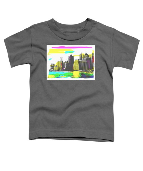 Pop City Skyline Toddler T-Shirt