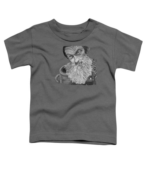 Popcorn Sutton Black And White Transparent - T-shirts Toddler T-Shirt