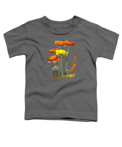 Poppy Pirouette Vertical Toddler T-Shirt