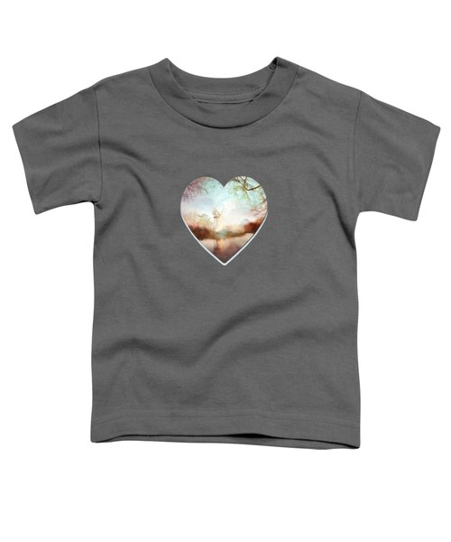 Porcelain Skies Toddler T-Shirt by Valerie Anne Kelly