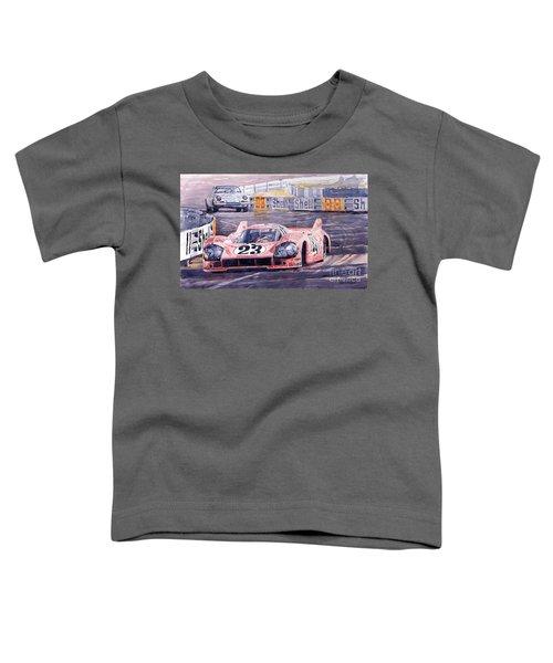 Porsche 917-20 Pink Pig Le Mans 1971 Joest Reinhold Toddler T-Shirt