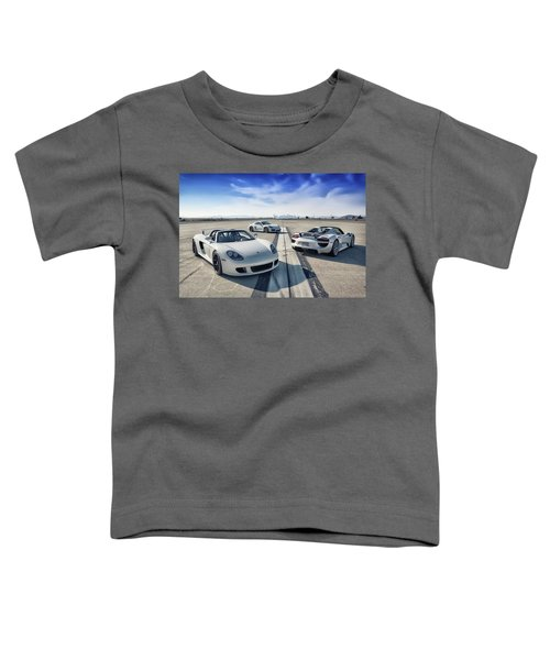 #porsche #carreragt,  #918spyder,  #cayman #gt4 Toddler T-Shirt