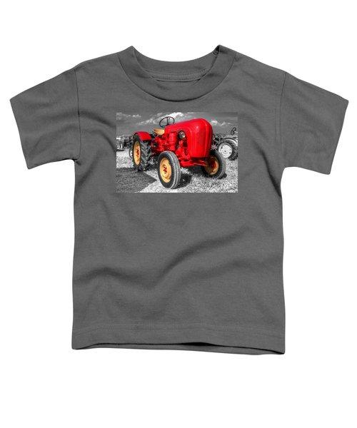 Porsche Tractor Toddler T-Shirt