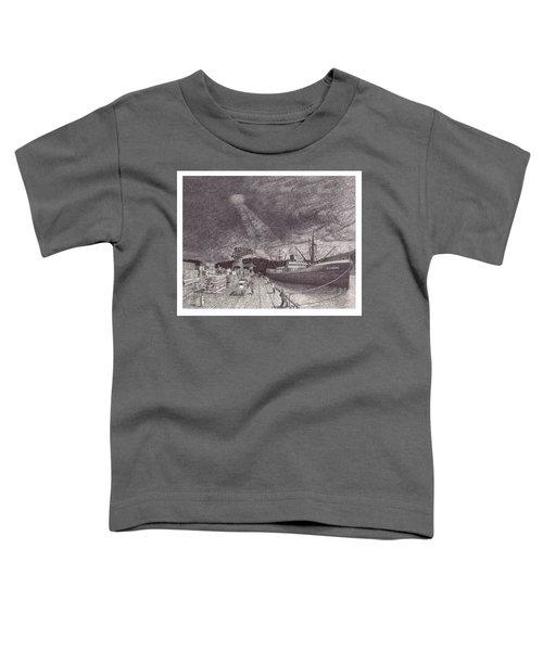 Port Of Tacoma Wa Waterfront Toddler T-Shirt
