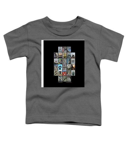 Portland Alphabet Toddler T-Shirt