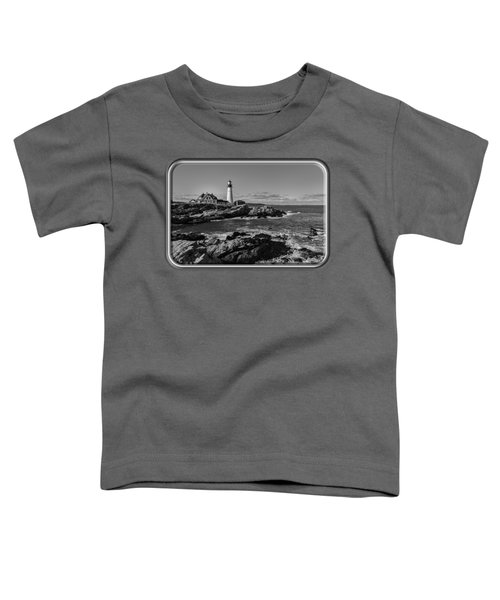 Portland Head Light No.34 Toddler T-Shirt by Mark Myhaver