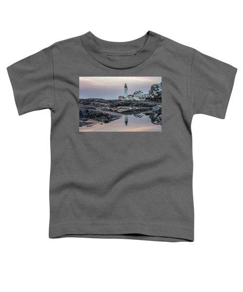 Portland Head Light Reflection Toddler T-Shirt