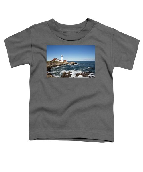 Portland Head Lighthouse Maine Toddler T-Shirt