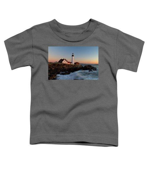 Portland Head Lighthouse Sunrise Toddler T-Shirt