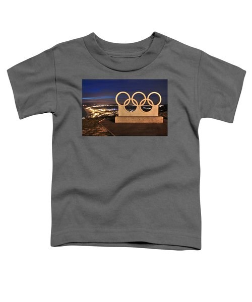 Portland Olympic Rings Toddler T-Shirt
