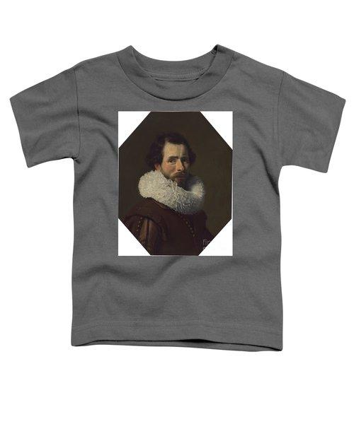 Portrait Of A Gentleman Wearing A Fancy Ruff Toddler T-Shirt
